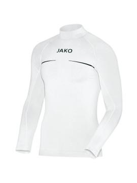Shirt opstaande kraag Comfort wit
